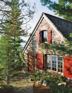 Standout cottage designs cozy cute quaint for Cozy canadian cottage