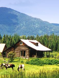 Small log cabin designs rustic retreats designed for for Compact cottages georgia