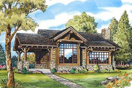Log cabin floor plan designs little architectural for Cozy cabin floor plans