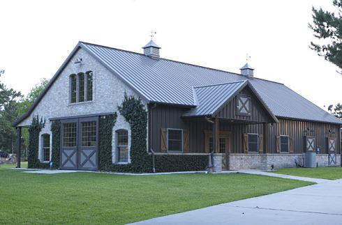 pole barn homes