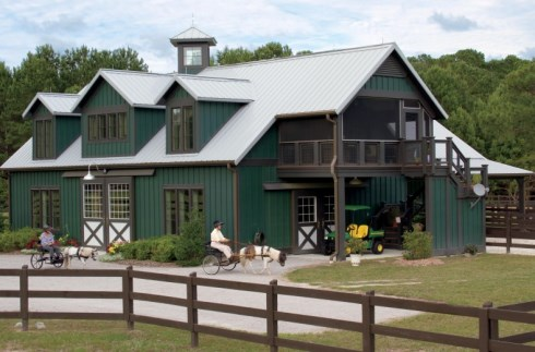 Post Frame House Plans | Pole Barn House Plans Post Frame Flexibility