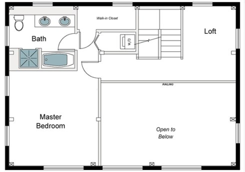 small barn home plans