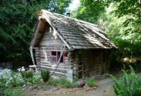 Small log cabin designs rustic retreats designed for for Small log cabin plans