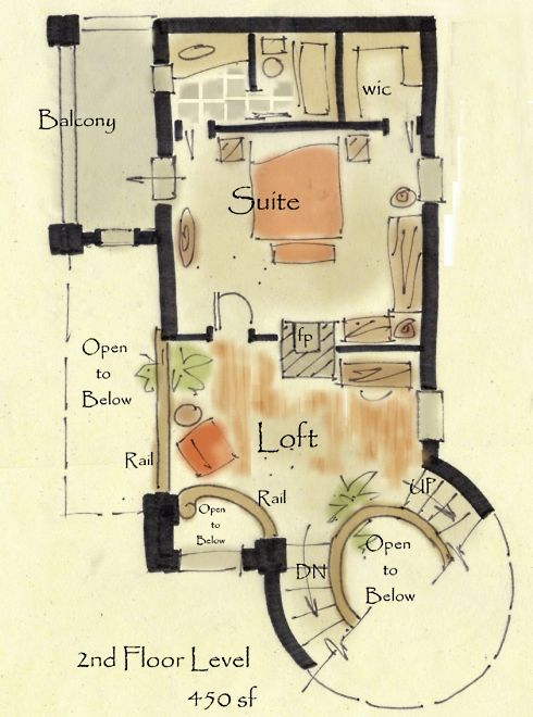 Storybook Cottage House Plans...Hobbit Huts to Cottage Castles! on house floor plans with 2 master suites, best master suite, house plans 2 master bedroom floor plans, house master bedroom interior design, house plans with dual master suites, 2 bedroom house plans with master suite,