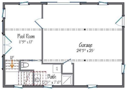 Barn style house plans in harmony with our heritage for Pool house plans with garage