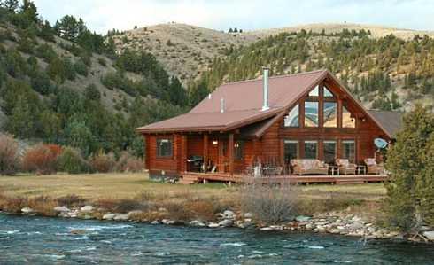Standout fishing cabin designs finding fish and fun for Wilderness cabin plans