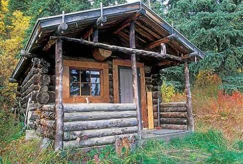The rustic hunting cabin in our sights for Hunting cabin house plans