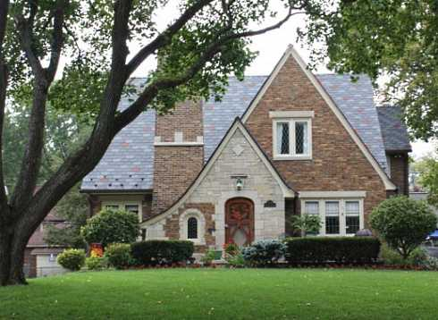 American stone cottages the french and english for American brick and stone