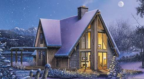 A frame cabin plans a is for adventurous for A frame chalet house plans
