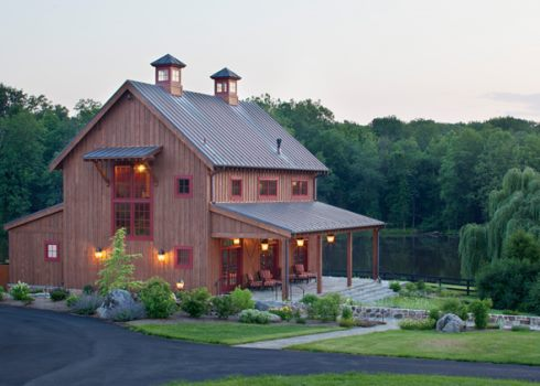 Barn home designs endearing and enduring for Small pole barn house plans