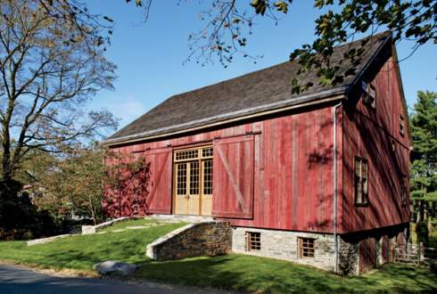 Standout barn homes renewed resources for Bank barn plans