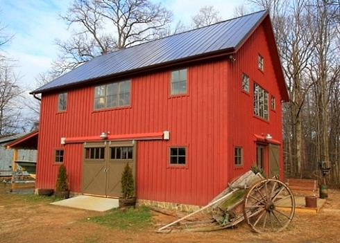 Barn style house plans in harmony with our heritage for Metal barn designs