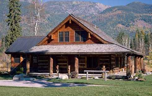 Image Gallery Log Cabin Roof Styles