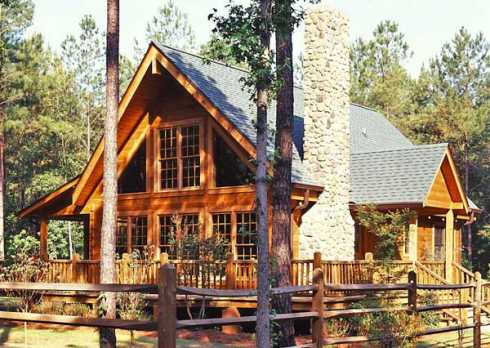 cabin design ideas and plans distinctive log cabins. Black Bedroom Furniture Sets. Home Design Ideas