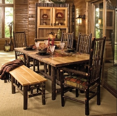 cabin dining furniture