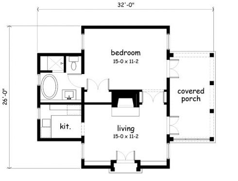 Garden Cottage Plan Above Available From Southern Living