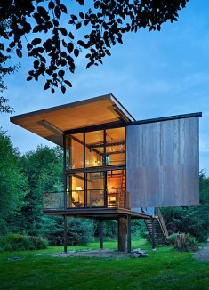 contemporary cabin
