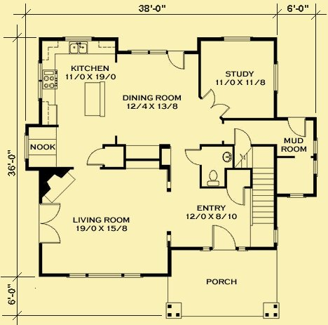 Admirable Small Cottage Floor Plans Compact Designs For Contemporary Largest Home Design Picture Inspirations Pitcheantrous