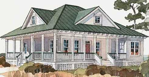 House Plans For Small Cottages With Porches