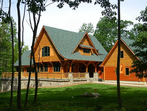 maple forest cottage