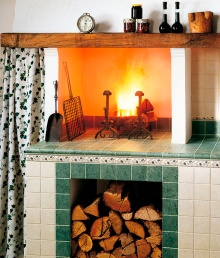 cottage kitchen tile backsplash