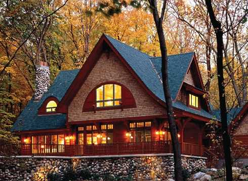 Cottage style decorating and design cozy and for Cozy cottage home designs