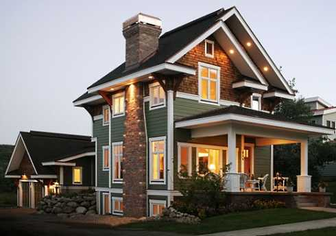 Exterior House Designs on Craftsman Cottage House Plans       Carefully Crafted