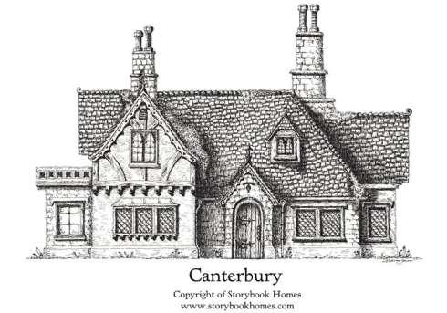 english cottage house plans storybook style