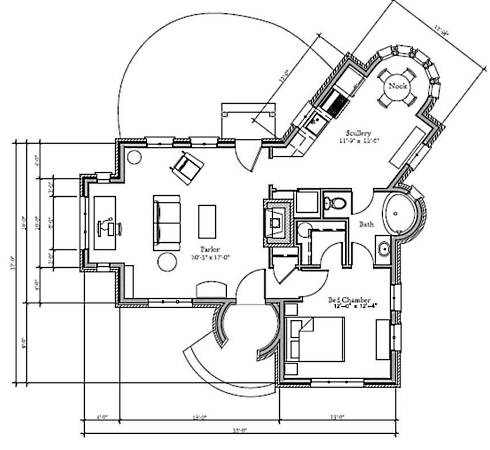 English Cottage House Plans       Storybook Style!