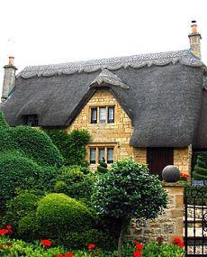 english storybook cottage