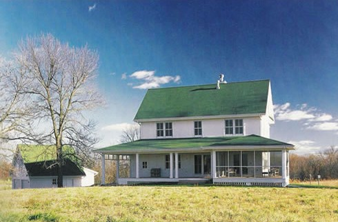 Farm house plans pastoral perspectives for Farm house plans with photos