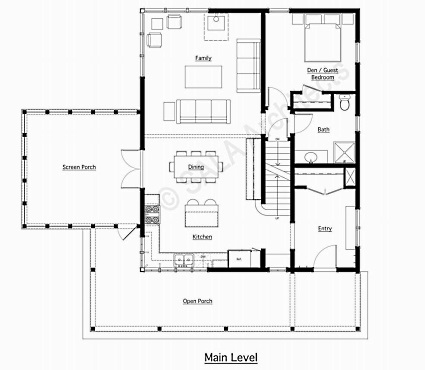 farm house plans - House Plans With Porches