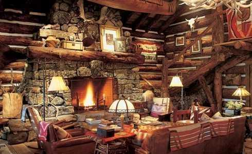 Cabin Fever Hot Fireplace Designs