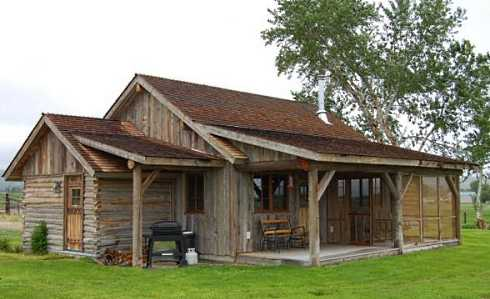 Superieur Small Cabin With Porch Designs