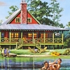 fishing cabin floor plans