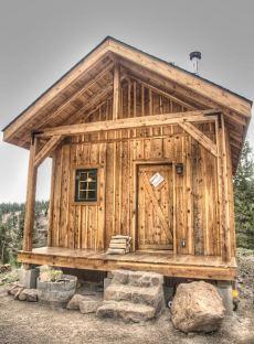 hunting cabin