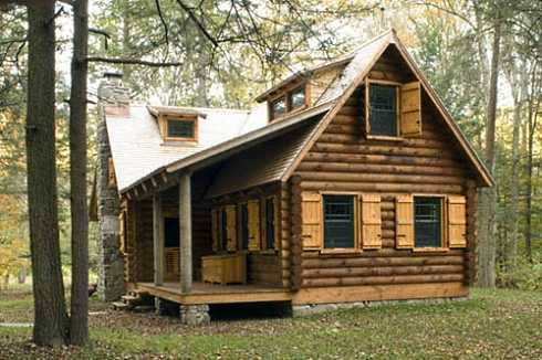 28 Hunting Cabin Plans Small Rustic Log Cabin In