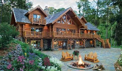 log cabin plans. log cabin designs
