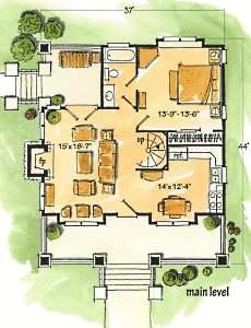 log cabin floor plan