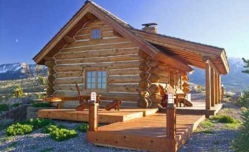 Small log cabin floor plans tiny time capsules for Easy log cabin plans