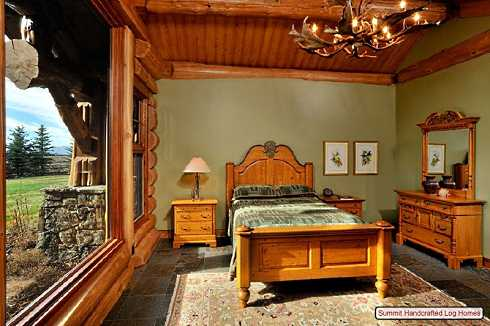 Log Cabin Home Decor -- Bedrooms, Bathrooms . . . . . And Beyond!