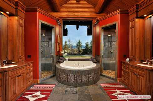 Homes Plans on More Log Cabin Home Decor Photos Of This Majestic Mountain Home