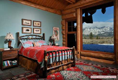 Chitecture of the room the painted blue wall picks up on the color of