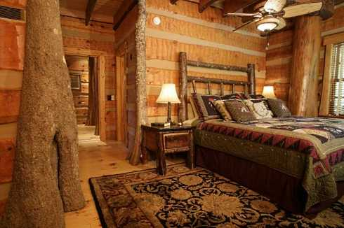 log cabin home plans