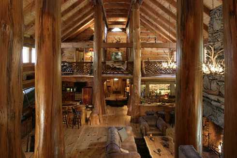 Log Cabin Home Plans       A Spectacular Hunter    s Haven log cabin home plans