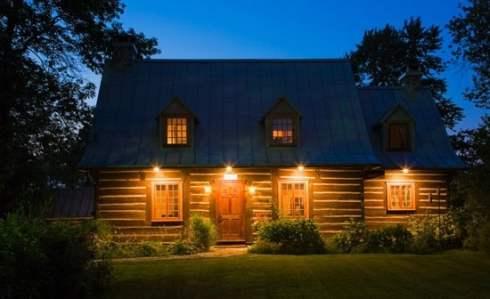 log cabin homes