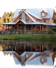 Standout log cabin homes carefully crafted for Home plans washington state