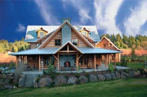 Standout log cabin homes carefully crafted for Log home plans colorado