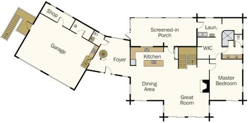Super Log Cabin House Plans A Beautifully Handcrafted Heirloom Interior Design Ideas Skatsoteloinfo