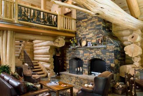 Log cabin house plans a beautifully handcrafted heirloom Interior design ideas log home